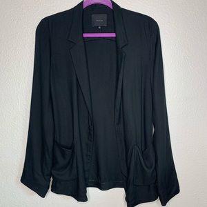 Talula Aritzia open cardigan style blazer